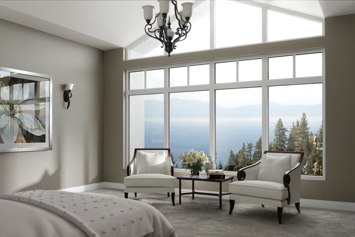 Interior Fiberglass Bedroom Milgard Windows